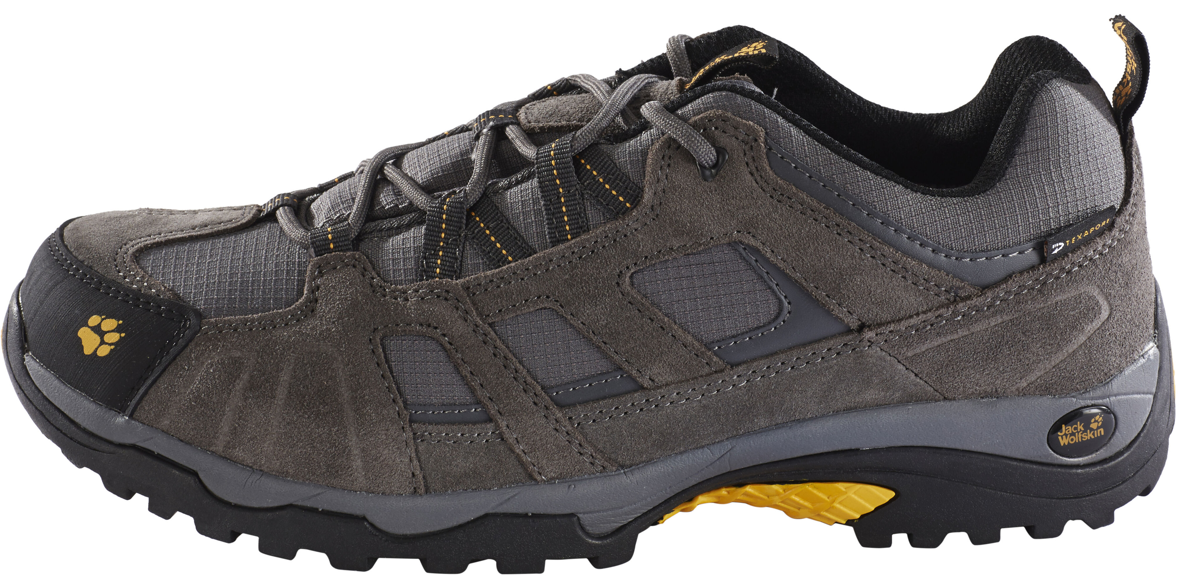 88fb8df56dd Jack Wolfskin Vojo Hike Texapore Shoes Men grey at Addnature.co.uk